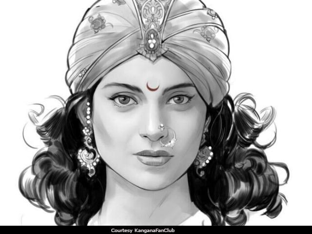 Viral: Is This Kangana Ranaut's First Look From Rani Laxmibai?