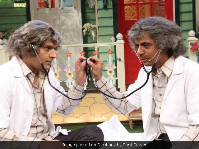 Kapil Sharma Vs Sunil Grover: Rishi Kapoor Tweets 'Mil Jao Yaaron,' Sunil Has The Best Response