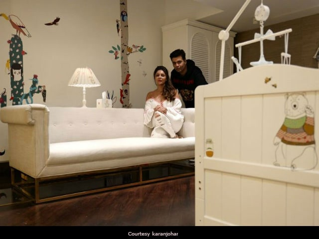 Karan Johar Takes Us Inside The Nursery Designed For His Twins Roohi And Yash