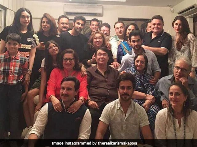 Kareena Kapoor, Sister Karisma, Husband Saif Ali Khan Celebrate Babita's Birthday In Style