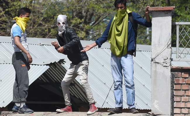 kashmir student protests