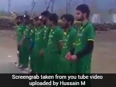 कश्मीर : मैच से पहले स्थानीय क्रिकेट टीम ने गाया पाकिस्तानी राष्ट्रगान, पुलिस में मामला दर्ज