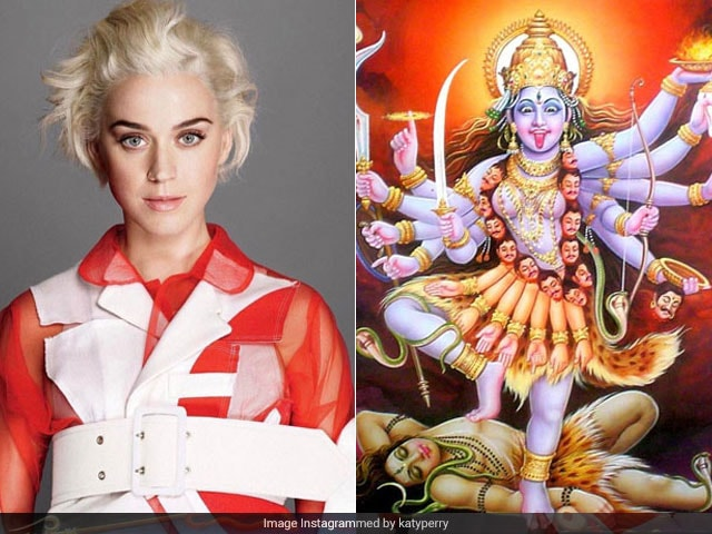 Katy Perry Trolled For Posting Pic Of Goddess Kali Captioned 'Current Mood'