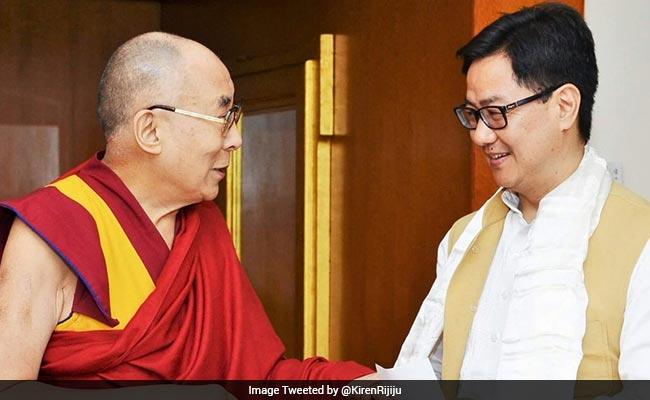 kiren rijiju dalai lama 650