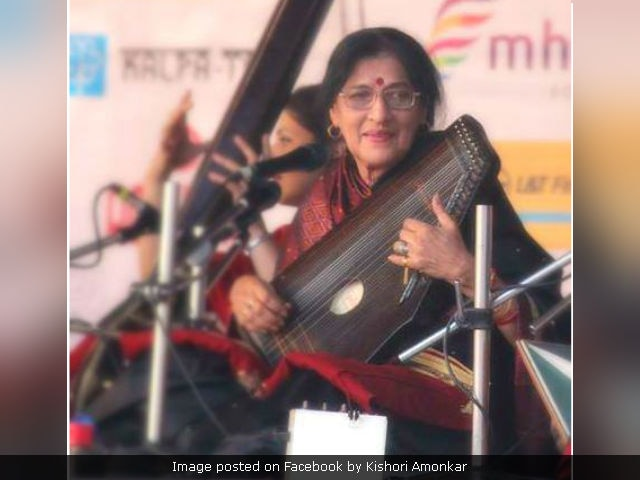 Kishori Amonkar, Classical Music Legend, Dies At 84