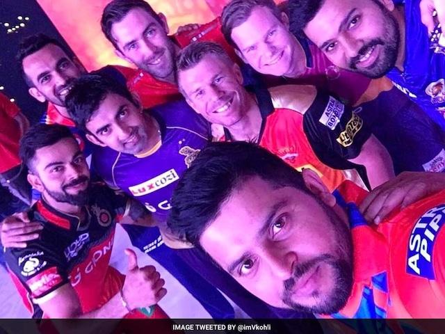 IPL 2017: Virat Kohli Buries Hatchet, Poses for Captains Photo With Steve Smith, Glenn Maxwell