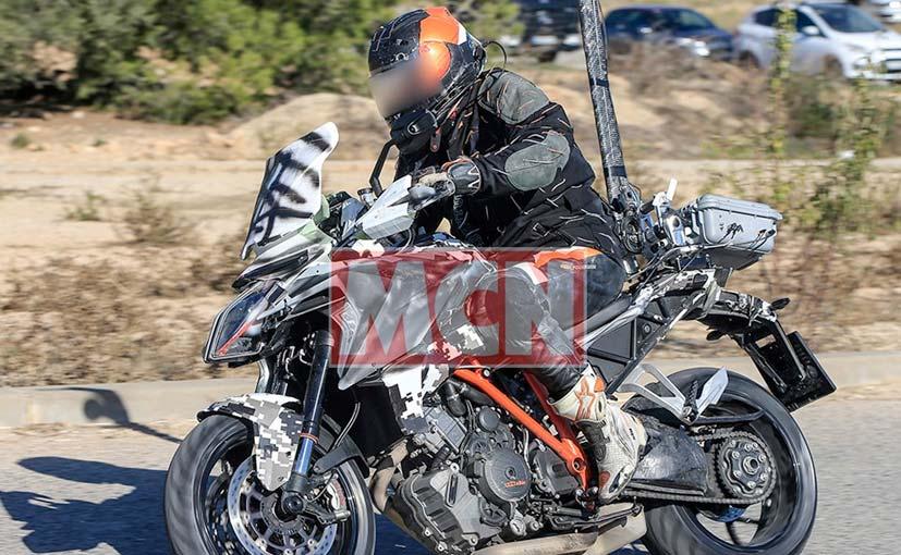 2018 ktm rally. wonderful 2018 ktm super duke gt spyshot for 2018 rally
