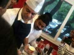 Telangana Chief Minister's Son KT Rama Rao Sold Ice-Cream. He Made A Cool 7.5 Lakh
