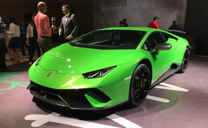 Lamborghini Huracan Performante Launched In India At Rs