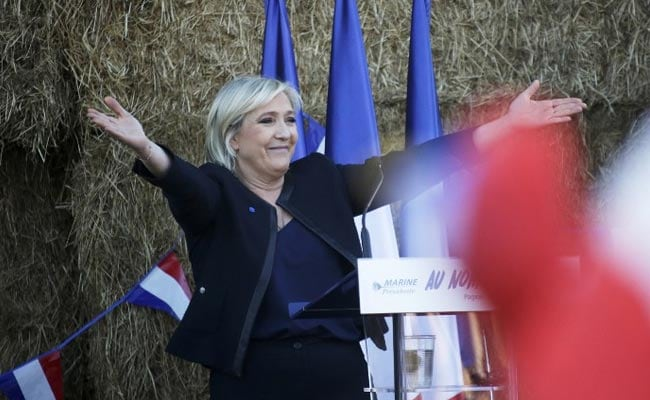 French Judges Ask For Marine Le Pen's Parliamentary Immunity To Be Lifted: Source