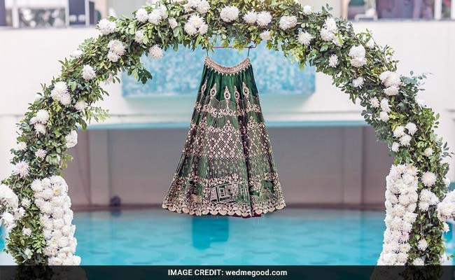 Goa Holiday Pics Embroidered On Lehenga Is The New Wedding Fad