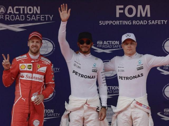 Chinese Grand Prix: Lewis Hamilton Romps To Pole Ahead Of Sebastian Vettel