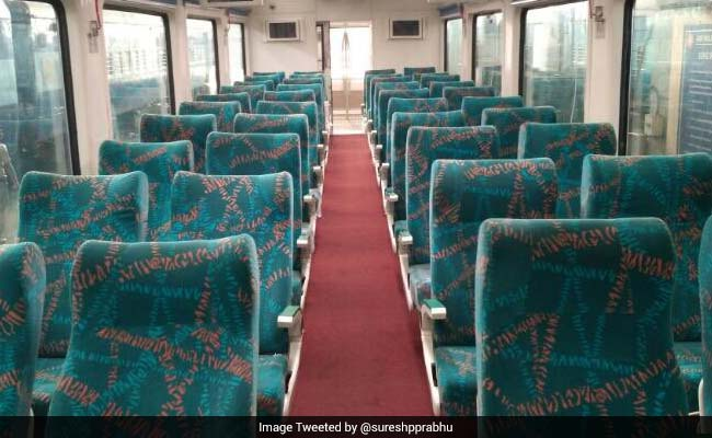 The train has a vistadome coach and will ply between Visakhaptnam and Araku