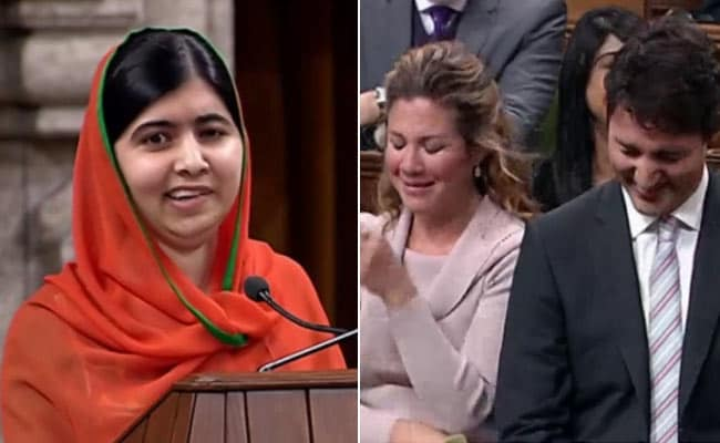 Malala Yousafzai, Now Canadian, Teases Justin Trudeau About His Tattoos