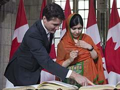 मलाला यूसुफज़ई ने जस्टिन ट्रूडो के टैटू पर चुटकी ली, कनाडा संसद में लगे ठहाके