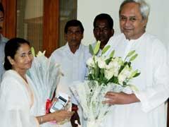 भाजपा से मुकाबले की तैयारी, ओडिशा के सीएम नवीन पटनायक से मिलीं ममता बनर्जी