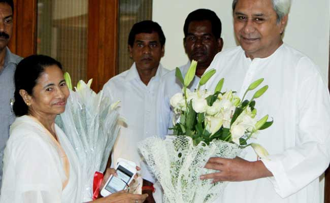 Mamata meets Patnaik, says regional parties enough to tackle BJP