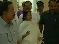 'Will Wait For Justice': Mamata Banerjee Visits Jailed MPs In Bhubaneswar