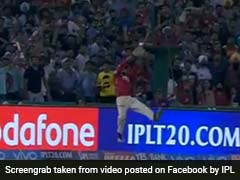 IPL 2017: Kings XI Punjab's Manan Vohra Shows Off Tremendous Fielding Skills Against Sunrisers Hyderabad