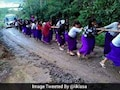 Viral: Manipur Schoolgirls Pull Bus Out Of Mud. 'Girl Power' Says Twitter