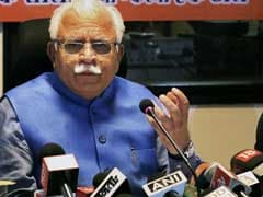 Delhi Owes Us Rs 100 Crore As Water Bills, Says Haryana Chief Minister