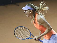 Maria Sharapova Wins On Return After Ban, Says 'Best Feeling In World'