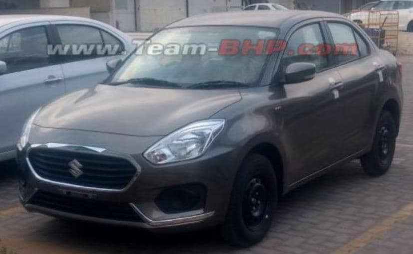 New-Gen Maruti Suzuki Swift Dzire Spotted Without Camouflage Ahead Of Launch