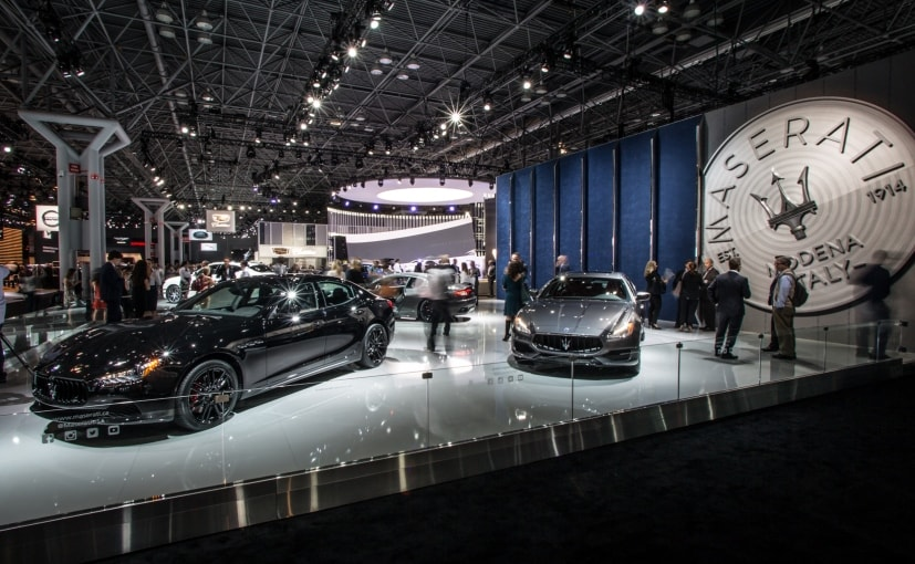 2017 new york auto show: all-black maserati ghibli nerissimo