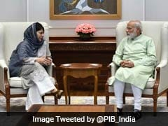 Talks Tough During Stone-Pelting, Firing, Says Mehbooba Mufti, Meets PM