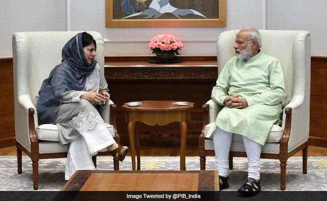 अगर कोई जम्मू-कश्मीर की समस्या का समाधान निकाल सकता है तो वे हैं पीएम नरेंद्र मोदी- महबूबा मुफ्ती