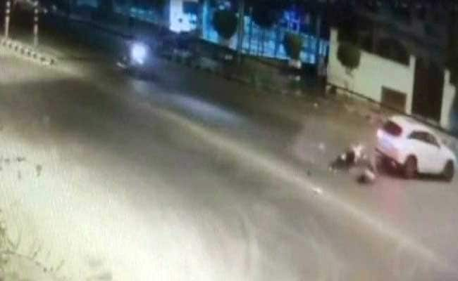 Caught On Camera: Teen Law Student Hit By Mercedes In Delhi