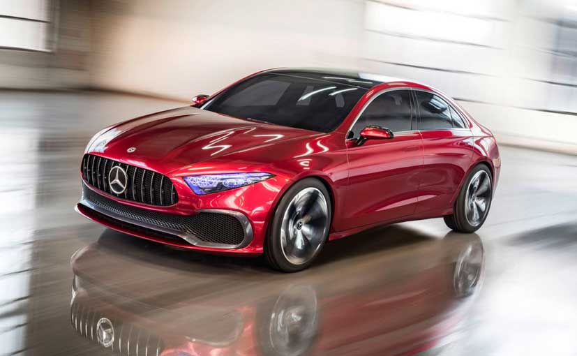 Mercedesu0027 2018 Line Up Include The Concept A Sedan, C Class Facelift
