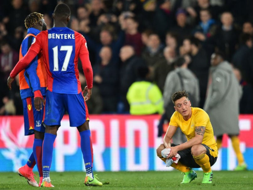Premier League: Arsenal Hit New Low As Crystal Palace Run Riot