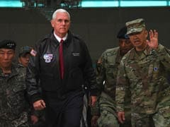 'All Options On Table' With North Korea: Mike Pence At Demilitarised Zone
