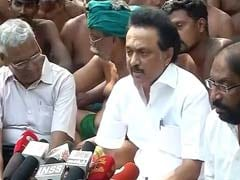 DMK's MK Stalin Demands Loan Waiver For Tamil Nadu Farmers