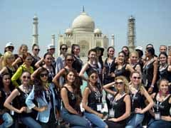 Models Asked To Remove Scarves At Taj Mahal. Government Denies Officials' Role