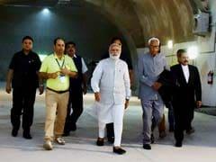 PM Narendra Modi Opens Jammu-Srinagar Road Tunnel - Longest In India: 10 Points
