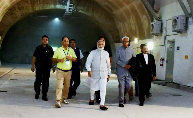 PM Narendra Modi Opens Jammu-Srinagar Road Tunnel - Longest In India: 10 Points