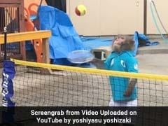 Watch Out Roger Federer! This Monkey Is A Tennis Star In Making