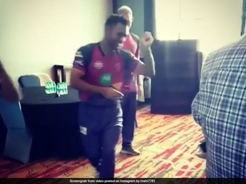IPL 2017: MS Dhoni Shows Off Dancing Skills As Ben Stokes Watches On