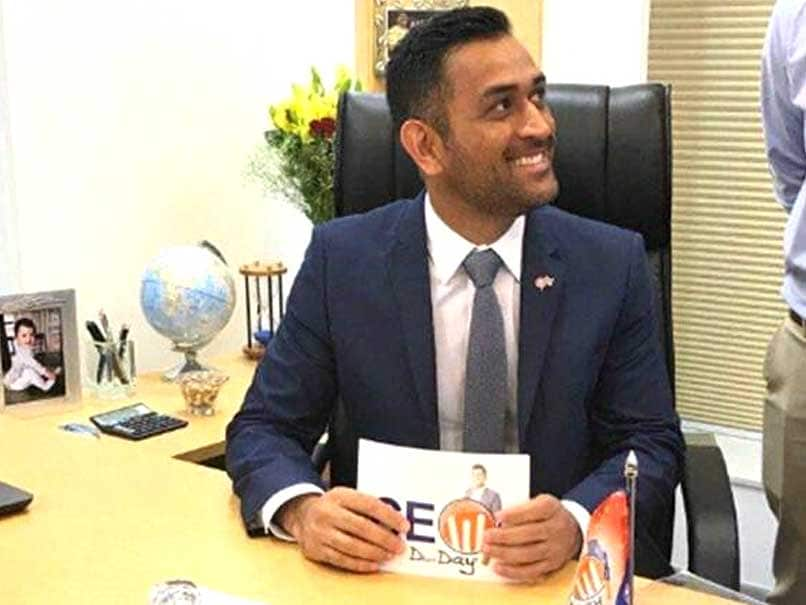MS Dhoni Becomes CEO For A Day