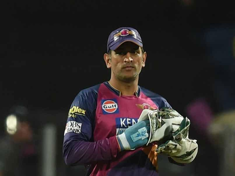 IPL 2017: MS Dhoni Records Century, This Time With Wicketkeeping Gloves