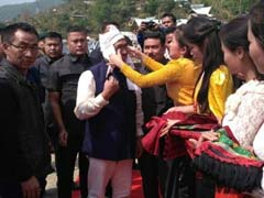 After 15 Years, Nagas Of Ukhrul Welcome Manipur Chief Minister With Red Carpet