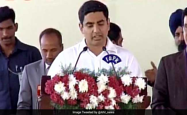 'Third Front Impossible Without BJP Or Congress': Chandrababu Naidu's Son