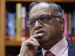 Infosys Shares Slip After Narayana Murthy Slams COO's Pay Hike