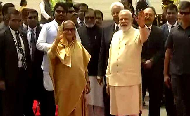 PM Narendra Modi Receives Sheikh Hasina As India, Bangladesh Aim To Enhance Ties