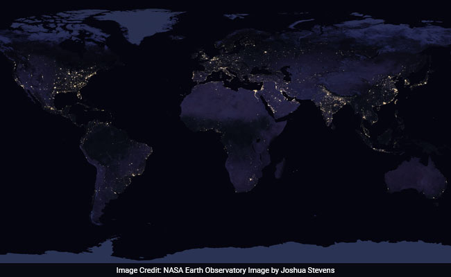 India At Night As Seen From Space Nasa Releases Stunning New Images
