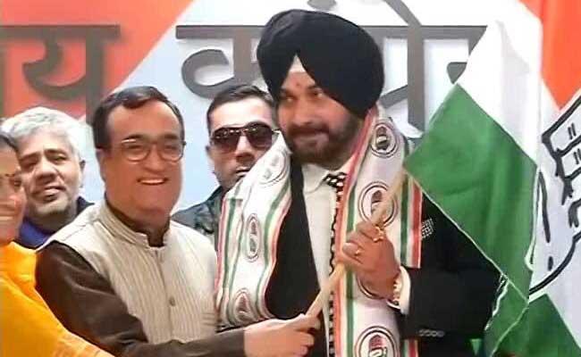 राजौरी गार्डन में कांग्रेस प्रत्याशी के लिए प्रचार के मैदान में उतरेंगे नवजोत सिंह सिद्धू