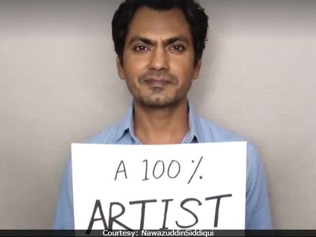 Nawazuddin Siddiqui Reveals He's '16.66% All Religions, 100 % Artist'