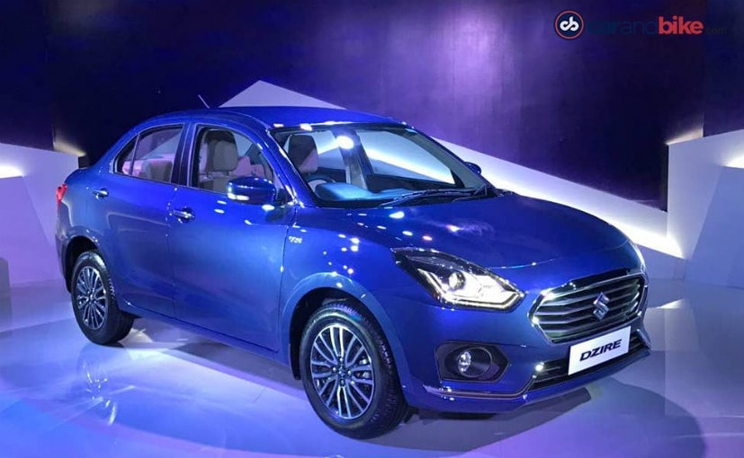 Maruti Suzuki Dzire Unveiled In India - NDTV CarAndBike